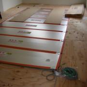 床暖房施工